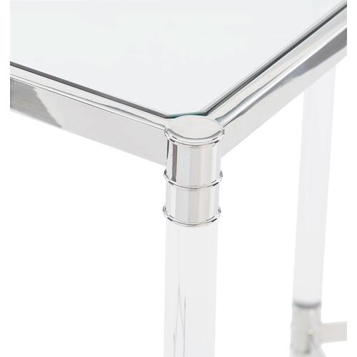 Celine Metal Square End Table