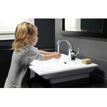 Chrome Single Handle Centerset Faucet