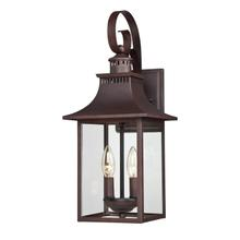 View Product - Chancellor Outdoor Lantern in Copper Bronze