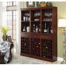 Classic Cherry Wall Bar Unit -