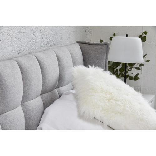 Moe's Home Collection - Lamb Fur Pillow Large Cream