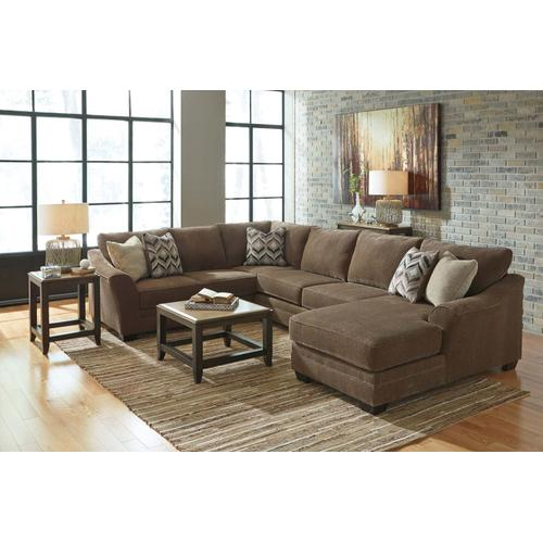 3 Piece Sectional RAF Chaise
