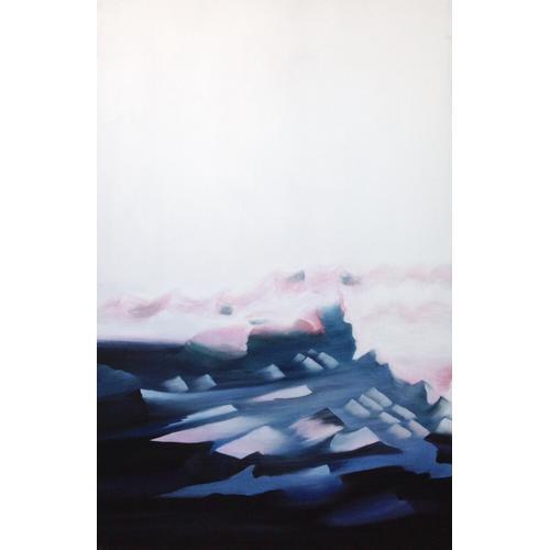 Gallery - Modrest 19013 - Modern Blue Framed Oil Painting