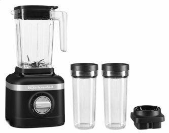 K150 3 Speed Ice Crushing Blender with 2 Personal Blender Jars - Black Matte