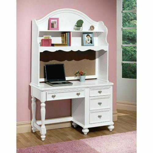 ACME Athena Computer Hutch - 30015 - White
