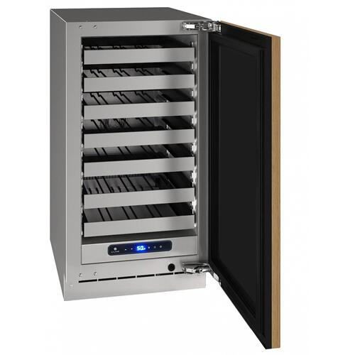 "Hwc518 18"" Wine Refrigerator With Integrated Solid Finish and Field Reversible Door Swing (115 V/60 Hz Volts /60 Hz Hz)"