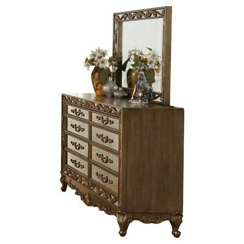 ACME Orianne Dresser - 23795 - Antique Gold