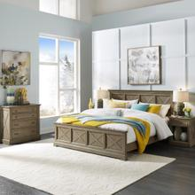 Walker King Bed, Nightstand and Chest