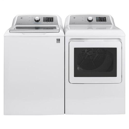 GE® 4.6 cu. ft. Capacity Washer with Sanitize w/Oxi and FlexDispense™