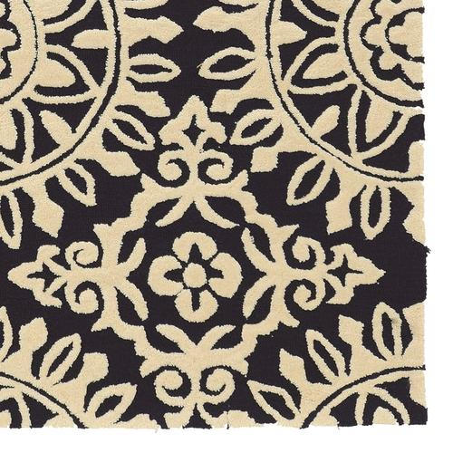 Trio Medallion Navy Cream 8ftx10ft