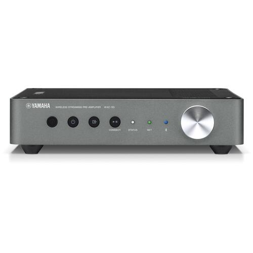 WXC-50 Dark Silver MusicCast Wireless Streaming Preamplifier
