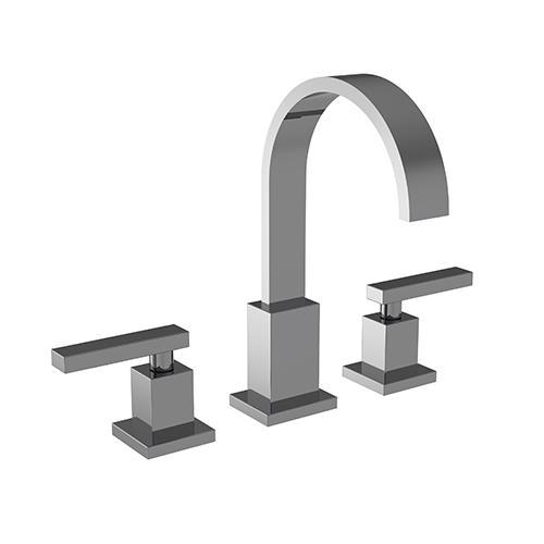 Newport Brass - Midnight Chrome Widespread Lavatory Faucet