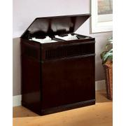 Transitional Cappuccino Laundry Hamper Product Image