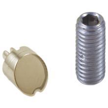See Details - Polished Nickel Set Screw & Button - Diverter