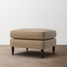 Ariana Leather Ottoman