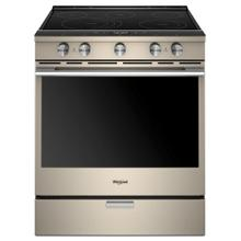CLOSEOUT 6.4 cu. ft. Smart Slide-in Electric Range with Scan-to-Cook Technology