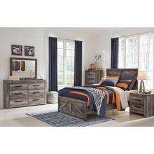 See Details - 6 Piece Set (3 Piece Full Bed, Dresser, Mirror and Nightstand)