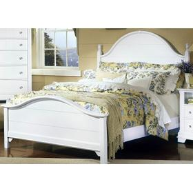 Panel Bed Queen & King (shown here in White)