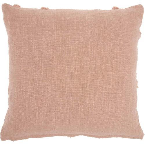 "Life Styles Sh018 Blush 18"" X 18"" Throw Pillow"