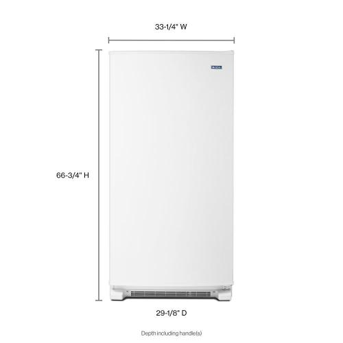 Maytag - 20 cu. ft. Frost Free Upright Freezer with LED Lighting