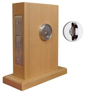 "Modern Mortise Deadlock with 2-3/4"" Backset in (Modern Mortise Deadlock with 2-3/4"" Backset - Solid Brass) Product Image"