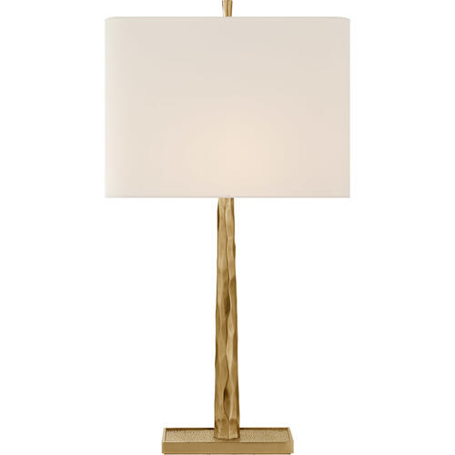 Barbara Barry Lyric 32 inch 100 watt Soft Brass Branch Table Lamp Portable Light