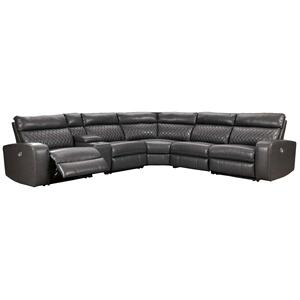 Samperstone - Gray PWR Modular Sectional (55203)