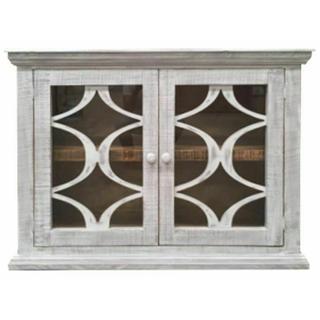 See Details - Birch Double Door Bookcase