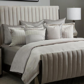 10pc King Comforter Set Champagne