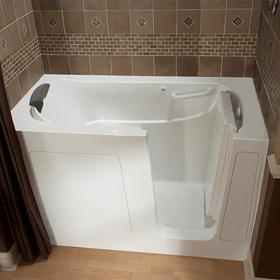 Premium Series 30x60 Air Spa Walk-in Tub, Right Drain  American Standard - White
