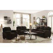 Northend Chocolate Three-piece Living Room Set Product Image