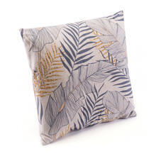 Tropical Pillow Gray