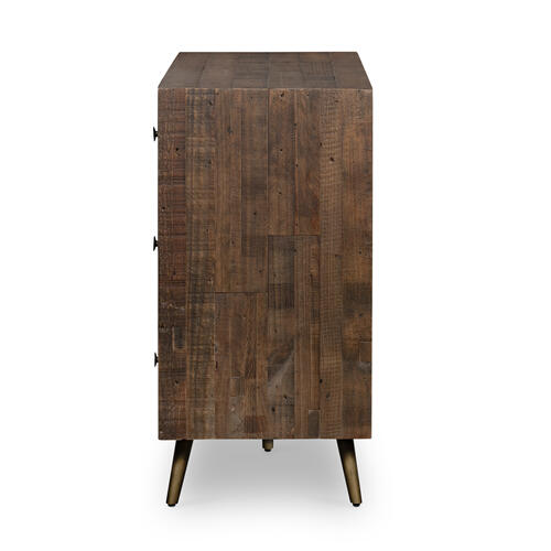 Bohemian 7 Drawer Dresser-r Saddle Tan