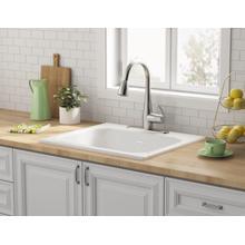 Quince 25x22-inch Single Bowl Kitchen Sink  American Standard - Brilliant White