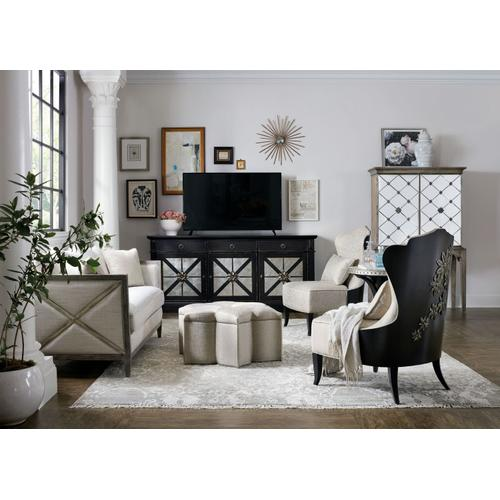 Living Room Sanctuary Belle Fleur Slipper Chair