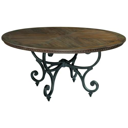 1-9221 Turtle Creek Round Dining Table