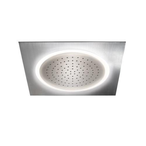 Legato® Ceiling-Mount Showerhead with LED Lighting - Polished Chrome Finish