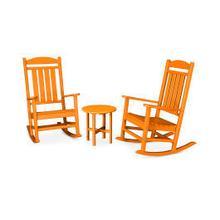 View Product - Presidential 3-Piece Rocker Set in Tangerine
