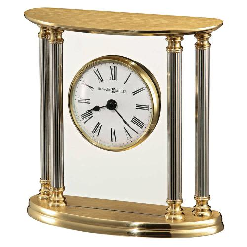 Howard Miller New Orleans Brass Table Clock 645217