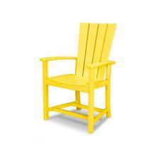View Product - Quattro Adirondack Dining Chair in Lemon