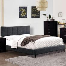 Ennis Queen Bed, Dark Gray