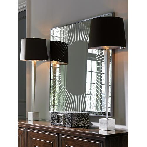 Calliope Square Sunburst Mirror