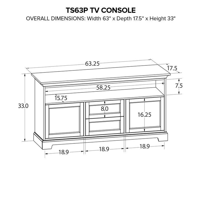 TS63P Custom TV Console