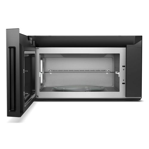 Whirlpool - 1.9 cu. ft. Smart Over-the-Range Microwave with Scan-to-Cook technology