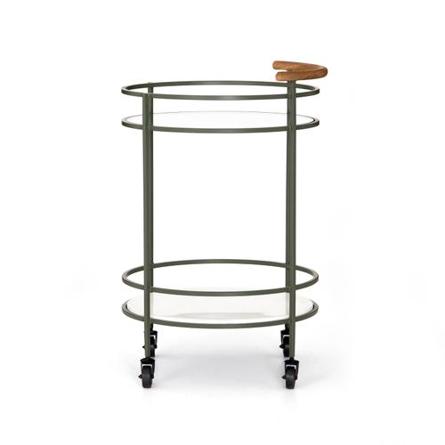 Dempsey Bar Cart-sage Green