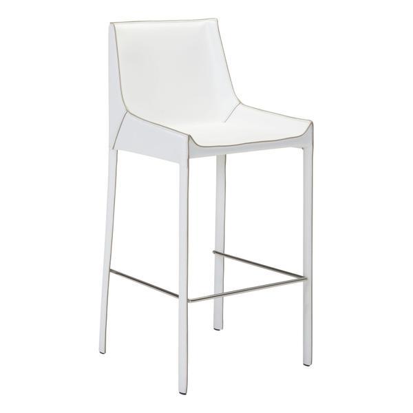 See Details - Fashion Bar Chair White