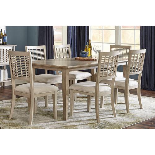 Ocala 7-piece Extension Rectangle Dining Set