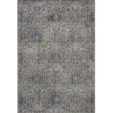 "Provence 8608 Sand Allover Kashan 5'3"" X 7'7"""