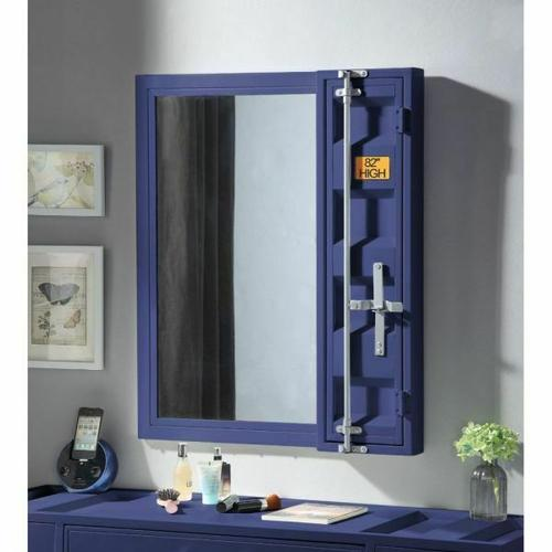 ACME Cargo Vanity Mirror - 35938 - Blue