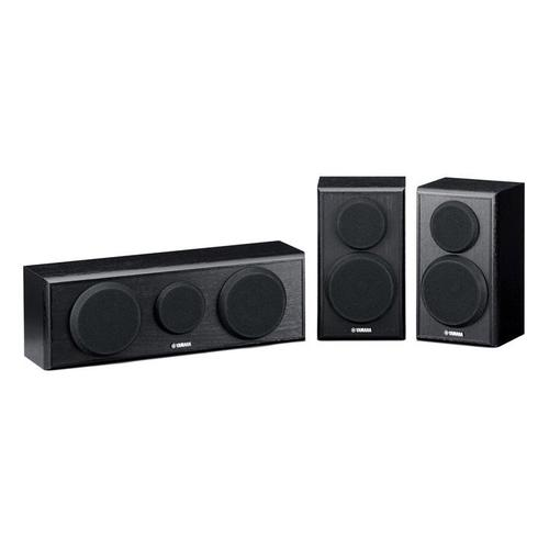 NS-P150 Piano Black Center and Two Surround Speakers Package HD Movie
